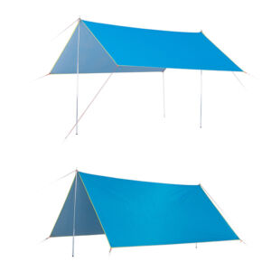 Custom waterproof nylon Camping Hammock RainOutdoor Shelter  Fly Tent Tarp / Beach Sun Shade Shelter